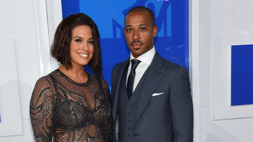 Ashley Graham mit ihrem Liebsten Justin Ervin bei den MTV VMAs