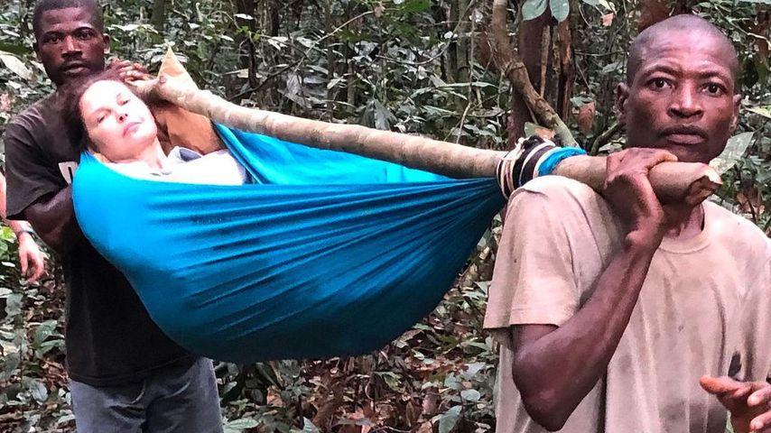 Ashley Judd nach ihrem Unfall im kongolesischen Regenwald, 2021