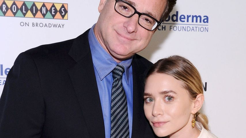 """Full House"": Ashley Olsen herzt ihren Serien-Dad"