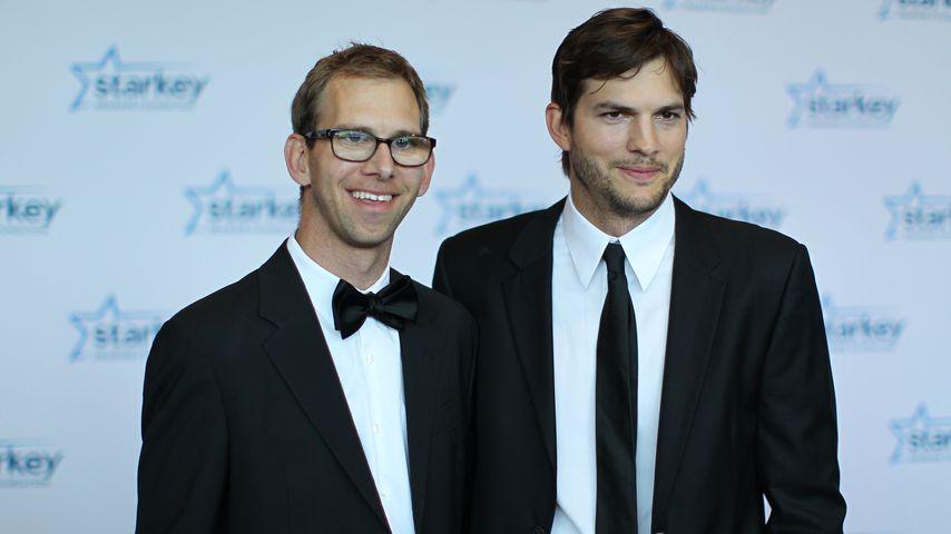 Ashton Kutcher mit Bruder Michael Kutcher