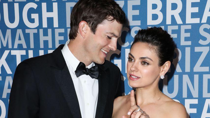 Ashton Kutcher und Mila Kunis bei der Breakthrough Prize Ceremony
