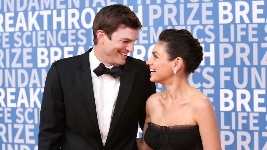"Ashton Kutcher und Mila Kunis beim ""Breakthrough Prize"" in Kalifornien"