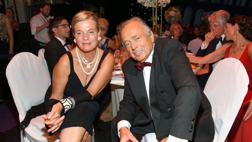 Astrid Hoeschel-Bellmann und Dieter Bellmann beim Leipziger Opernball
