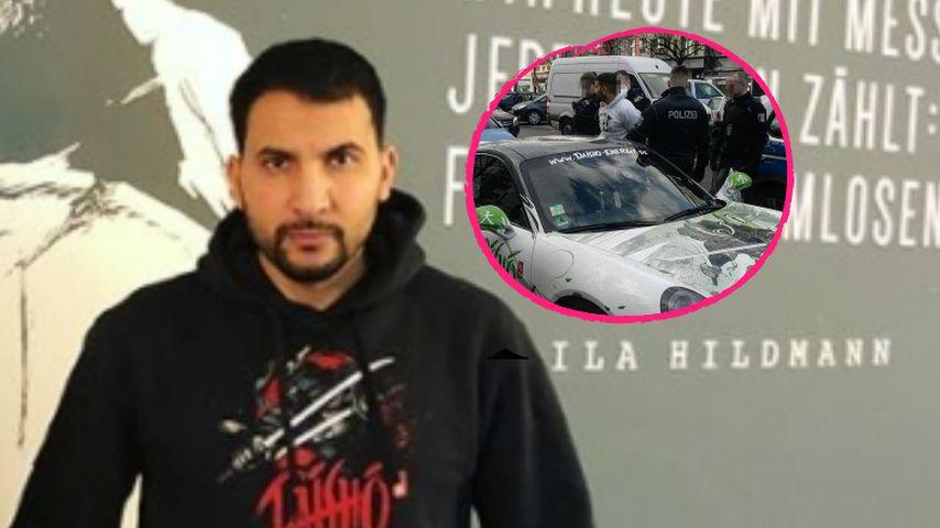 Falsch geparkt: Attila Hildmann festgenommen!
