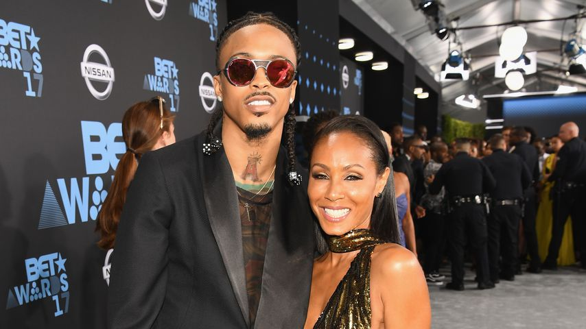 August Alsina und Jada Pinkett-Smith im Juni 2017