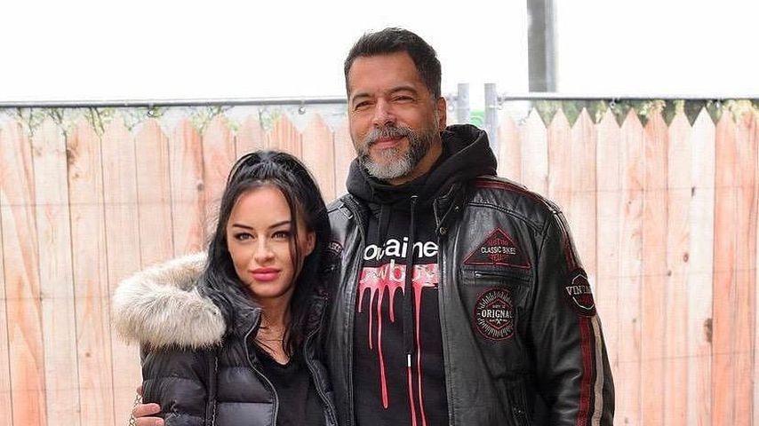 Aurelio Savina mit seiner Freundin Larissa