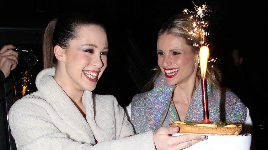Aurora Ramazzotti mit ihrer Mutter Michelle Hunziker