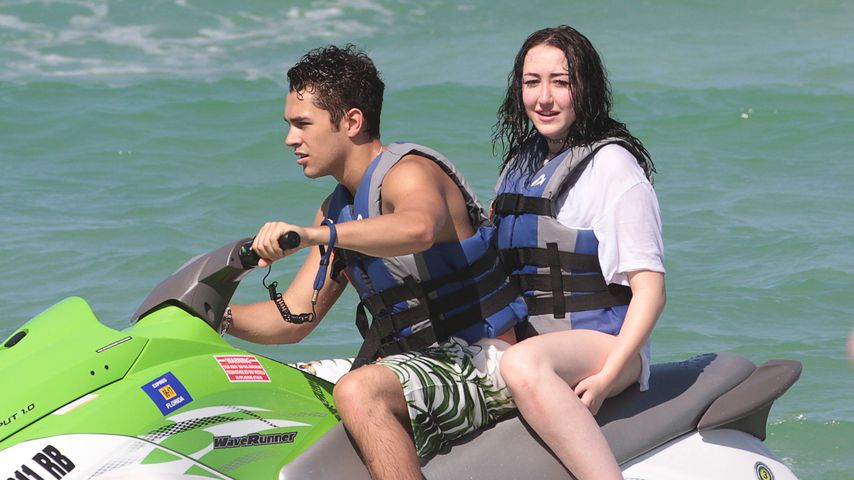 Austin Mahone und Noah Cyrus in Miami