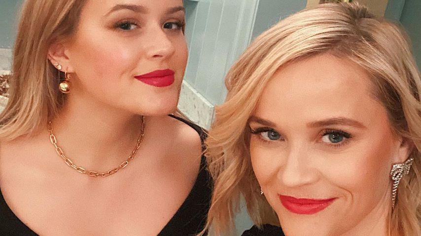 Reese Witherspoon mit ihrer Tochter Ava Elizabeth Phillippe, 2020