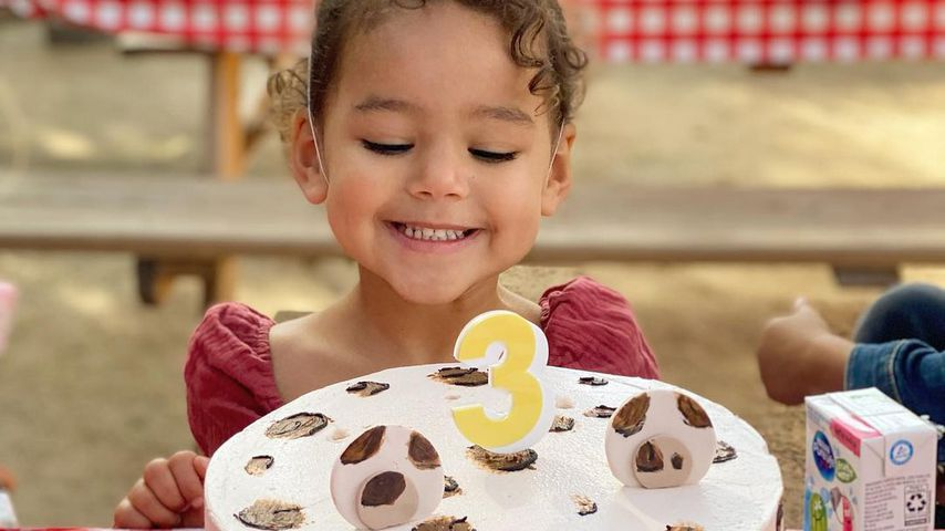 Ava LaVerne West bei ihrer Geburtstagsparty, 2021