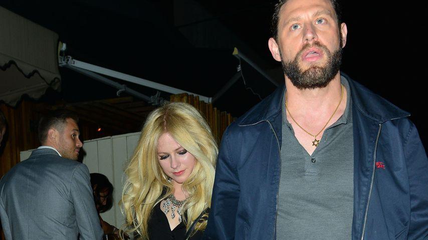 Avril Lavigne und Musikproduzent J.R. Rotem in West Hollywood 2017