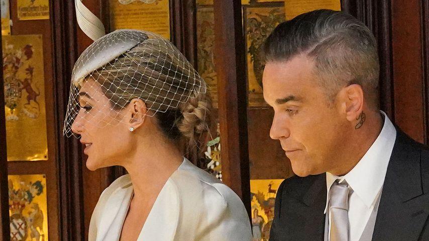 Netz-Hate: Robbie Williams kaut Kaugummi bei Royal-Hochzeit