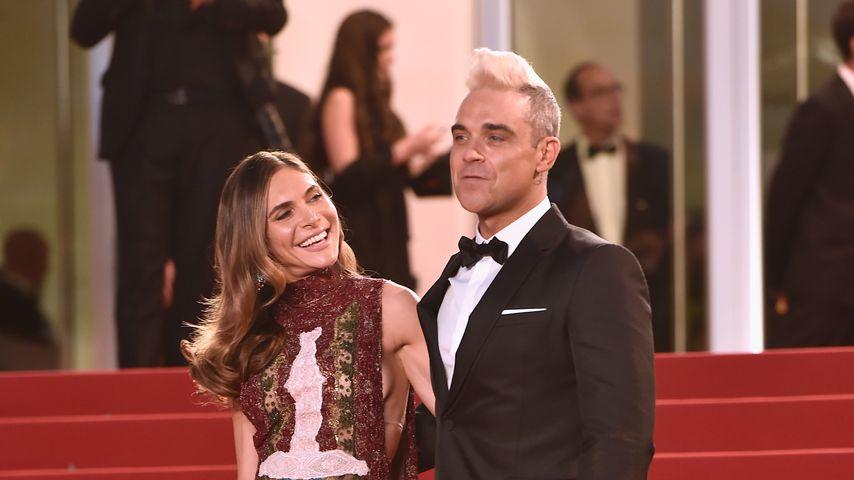 Ayda Field und Robbie Williams, Mai 2015 in Cannes