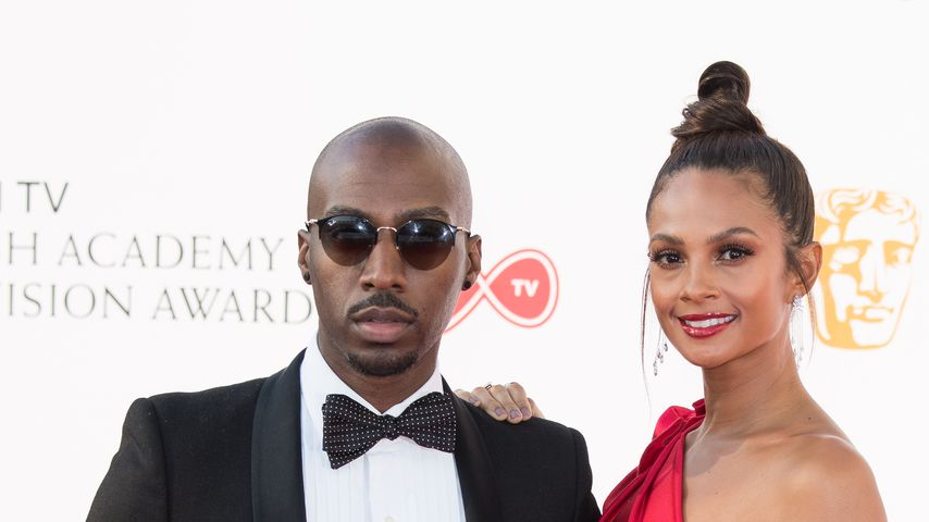 Azuka Ononye und Alesha Dixon, 2018 in London