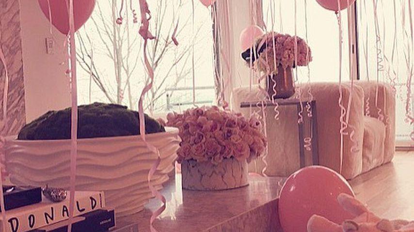 Baby-Deko von Khloe Kardashian