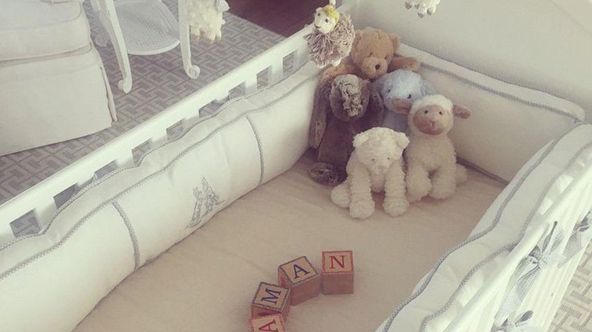 Das Kinderzimmer von Tyler Perrys Sohn im Jahr 2015