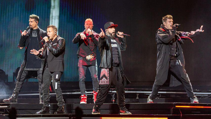 Die Backstreet Boys 2019 bei einem Konzert