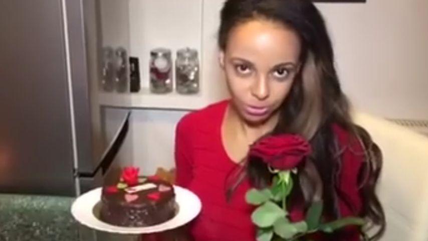 Bahati Venus: Zum Valentinstag machte sie es sich selbst!