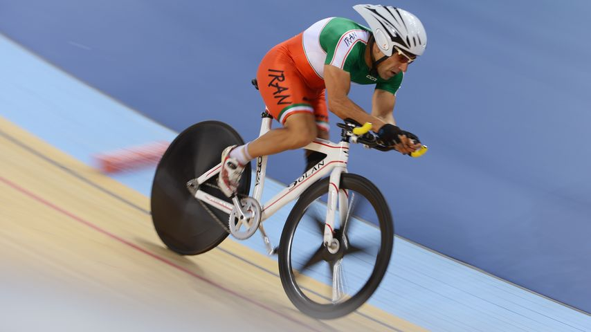 Bahman Golbarnezhad bei den Paralympics in London 2012