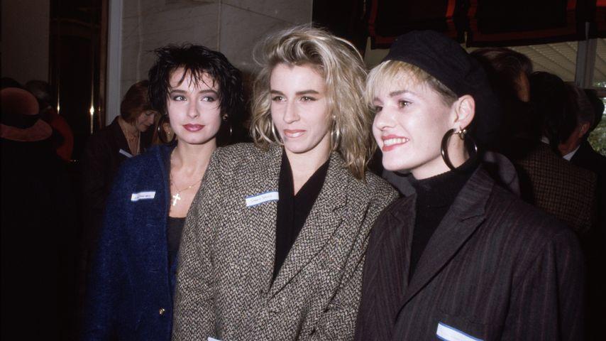 Die Girlband Bananarama in London 1985
