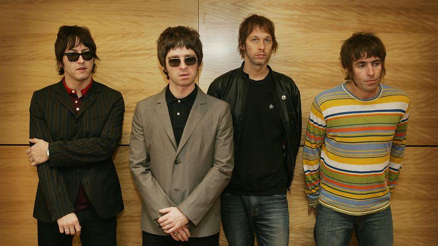 Die Band Oasis 2006 in Hong Kong