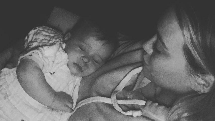 Schock: Hilary Duff musste mit Baby Banks ins Krankenhaus