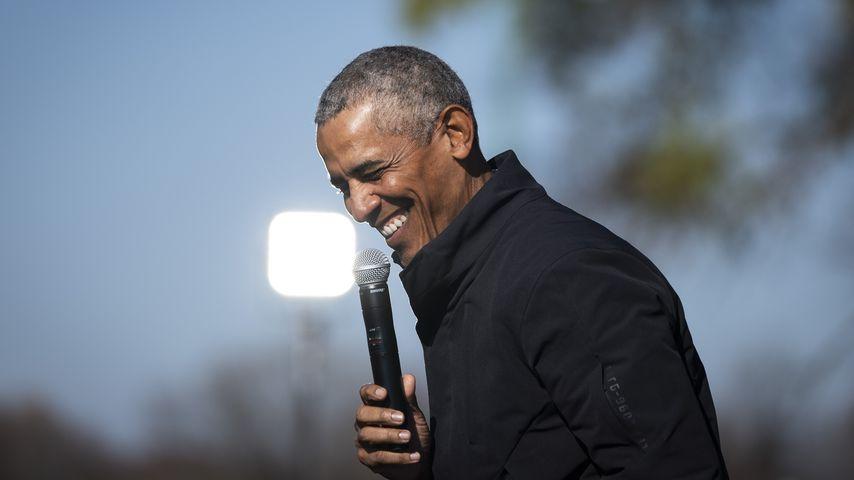 Barack Obama bei einer Wahlkampfveranstaltung im Oktober 2020
