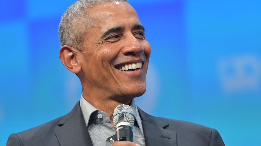 Barack Obama bei einem Event in München im September 2019