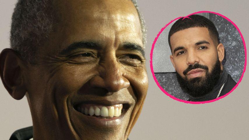 Cool: Barack Obama wünscht sich Drake für sein Biopic!