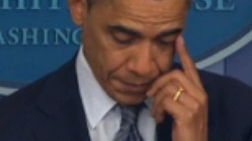 Nach Amoklauf: Obama weint um tote Kinder