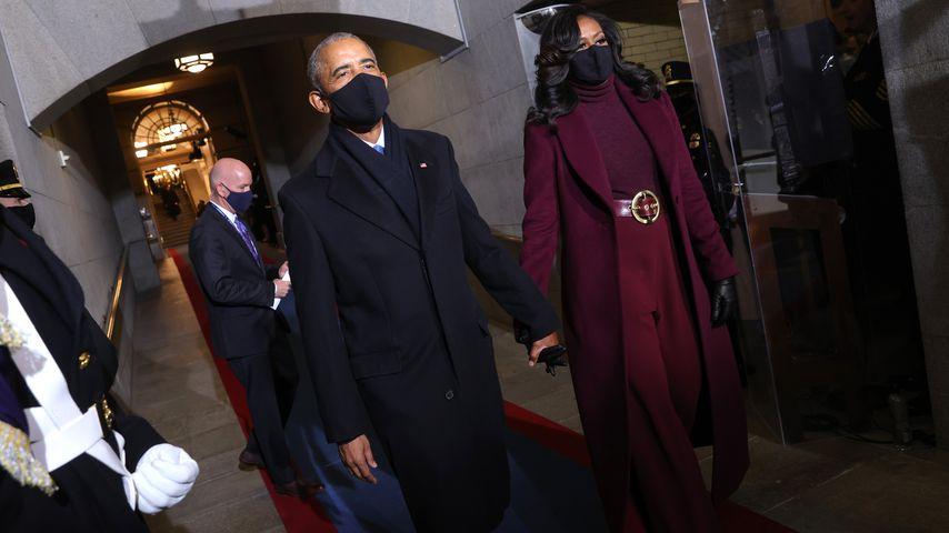 Barack und Michelle Obama bei Joe Bidens Vereidigung