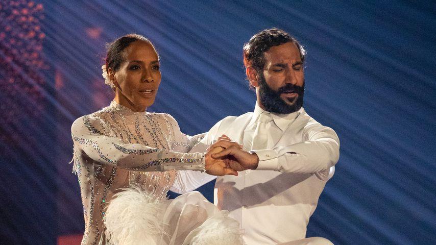 """Barbara Becker und Massimo Sinató bei """"Let's Dance"""""""