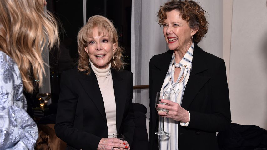 Barbara Eden und Annette Bening bei einer Filmpremiere im März 2019