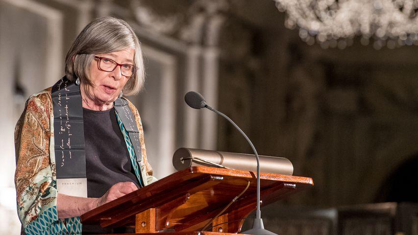 Barbara Ehrenreich bei der Erasmus Prize Award-Zeremonie