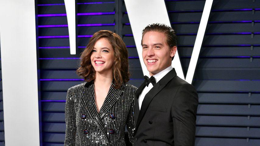 Barbara Palvin und ihr Freund Dylan Sprouse bei der Vanity Fair Oscar Party 2019