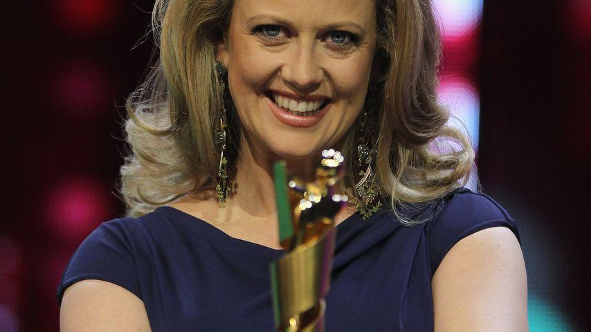 Barbara Schöneberger beim Deutschen Filmpreis in Berlin im April 2011