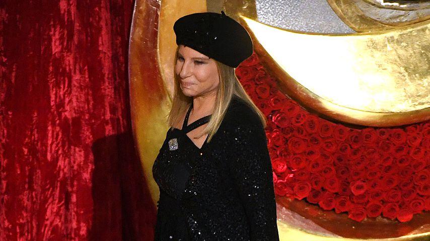 Barbra Streisand bei einer Preisverleihung im Februar 2019