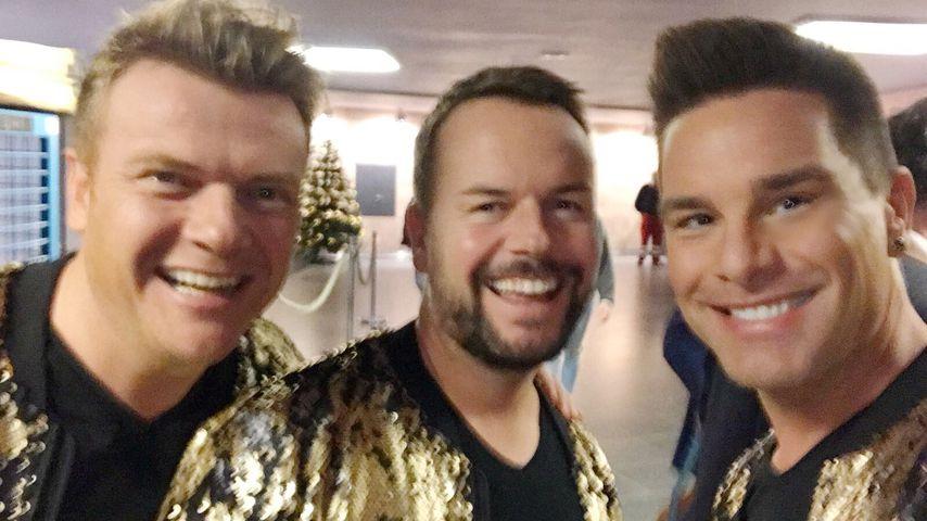 Bastiaan Ragas, Lee Baxter und Eloy de Jong von Caught in the Act, 2017