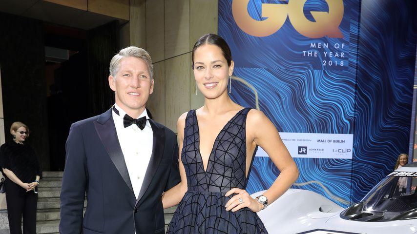 Bastian Schweinsteiger und Ana Ivanovic bei den GQ Awards in Berlin