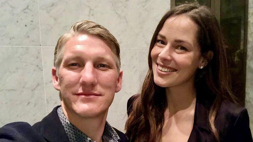 Zum Hochzeitstag: Süße Worte von Ana an Basti Schweinsteiger