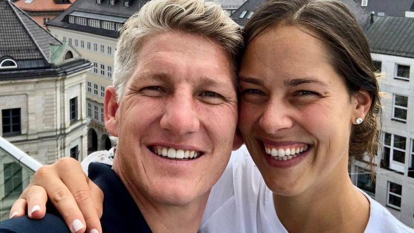 Bastian Schweinsteiger und Ana Ivanovic in München