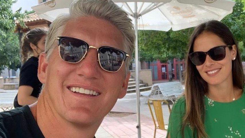 Bastian Schweinsteiger und Ana Ivanović im Jahr 2020