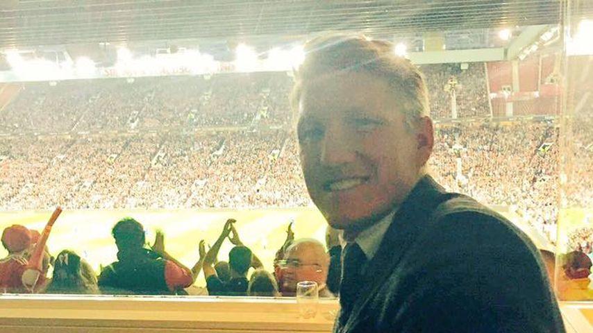 Bastian Schweinsteiger im Old-Trafford-Stadion