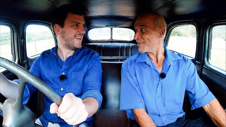 Bauernreporter Ralf und Bauer Gerhard