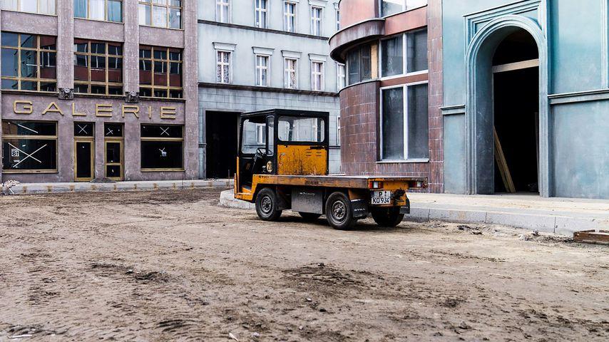 Baustelle am GZSZ-Set