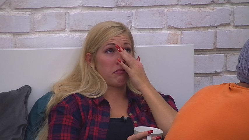 "Figuren-Drama bei ""Big Brother"": Natascha fühlt sich zu dick"