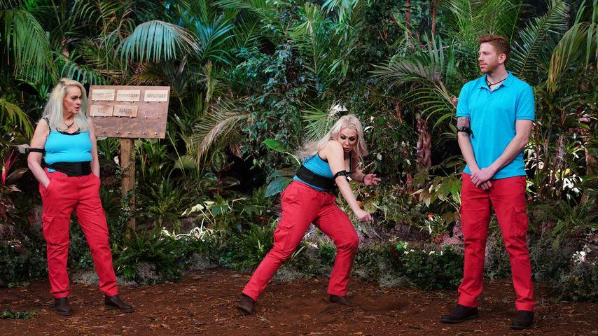 Bea, Lydia und Lars in der Dschungelshow 2021