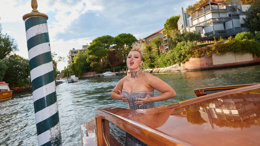 Bebe Rexha beim Event von Dolce & Gabbana in Venedig