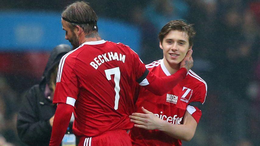 Victoria gerührt: Brooklyn Beckham ersetzt Papa David