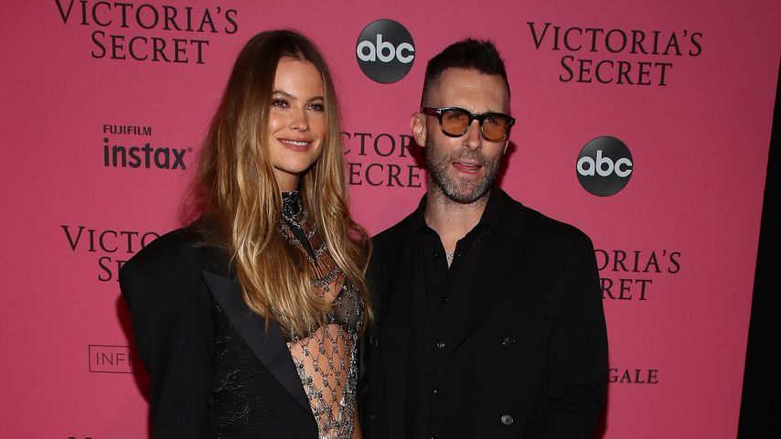 Behati Prinsloo und Adam Levine nach der Victoria's Secret Fashion 2018